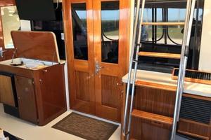 53' Hatteras Motor Yacht Classic 1984 AftDeckForward