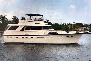 53' Hatteras Motor Yacht Classic 1984 MainProfile