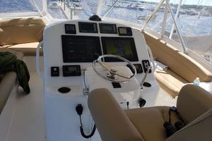 54' Ocean Yachts Convertible 2009 FlybridgeHelm