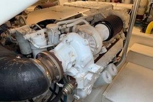 54' Ocean Yachts Convertible 2009 EngineRoom