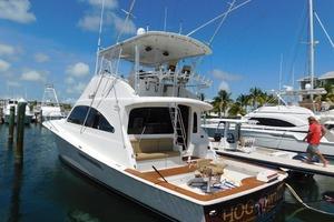 54' Ocean Yachts Convertible 2009 PortAftQtrView