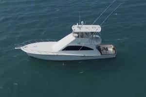 54' Ocean Yachts Convertible 2009 AerialPortView