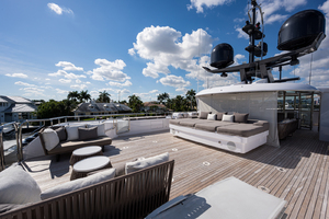 Sun Deck, portside view from aft