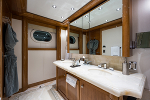 Guest King Stateroom, starboard side aft head