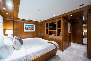 Guest King Stateroom, starboard side aft view