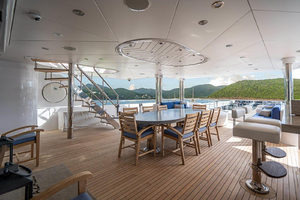 Aft Deck rear starboard view
