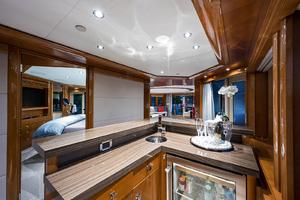 Bridge Deck, VIP stateroom entry - vista bar