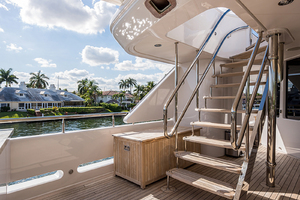 Stairs to Sun Deck