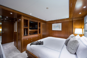 Guest King Stateroom, port aft, forward view