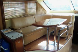 52' Sea Ray Sedan Bridge 2005 DinetteLookingForward