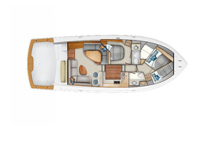 Viking 44 Convertible (Interior Layout)