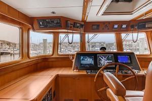60' Selene 60 Ocean Trawler 2010 Helm station