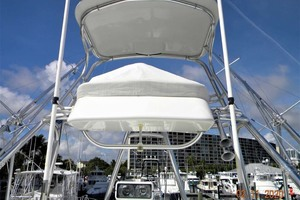 A MODO MIO is a Cabo 40 Express SF Yacht For Sale in North Palm Beach-Tower Control Box-4
