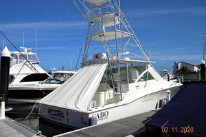 A MODO MIO is a Cabo 40 Express SF Yacht For Sale in North Palm Beach-Dockside Starboard-1