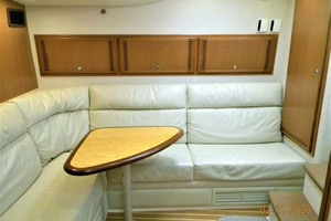A MODO MIO is a Cabo 40 Express SF Yacht For Sale in North Palm Beach-Salon Settee, Upper And Lower Bunks, Rod Locker-14