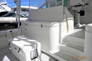 A MODO MIO is a Cabo 40 Express SF Yacht For Sale in North Palm Beach-Cockpit To Helm Deck (note Sea Dek)-23