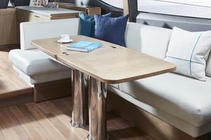 V65 Interior Dining Area