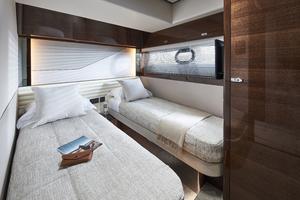 V78 Interior Port Guest Cabin Walnut Gloss