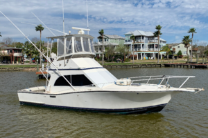 Sueshe is a Albemarle 32 Convertible Yacht For Sale in Kemah-Albemarle 32 Convertible 1991 Sueshe-0