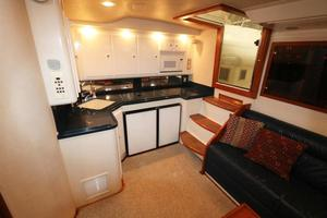 Reel Life is a Cabo 45 Express Yacht For Sale in Panama City Beach-1997 45 Cabo Express Reel Life - Galley-3