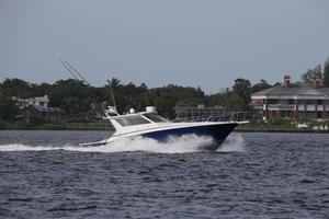 Reel Life is a Cabo 45 Express Yacht For Sale in Panama City Beach-1997 45 Cabo Express Reel Life - Running-45
