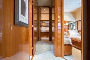 Azimut 80 - Enchanted Lady - Master Stateroom Companionway