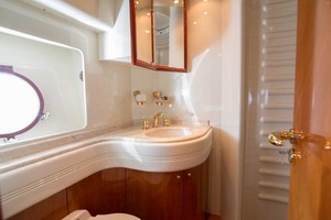 Azimut 80 - Enchanted Lady - Guest Stateroom Head, Port
