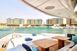 MAJESTY 120 is a Majesty Yachts Raised Pilothouse Yacht For Sale-Forward Deck-27