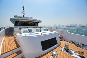 MAJESTY 120 is a Majesty Yachts Raised Pilothouse Yacht For Sale-Forward Deck-28