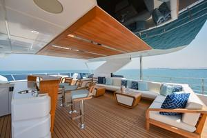 MAJESTY 120 is a Majesty Yachts Raised Pilothouse Yacht For Sale-Flybridge-31
