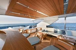 MAJESTY 120 is a Majesty Yachts Raised Pilothouse Yacht For Sale-Flybridge-30
