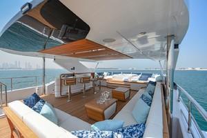 MAJESTY 120 is a Majesty Yachts Raised Pilothouse Yacht For Sale-Flybridge-32