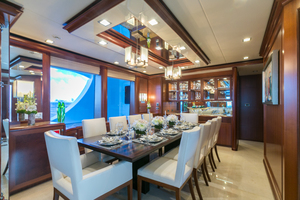 MY AURORA is a Nordhavn  Yacht For Sale in Fort Lauderdale-Dining-6