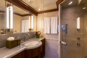 MY AURORA is a Nordhavn  Yacht For Sale in Fort Lauderdale-Master Stateroom Bath