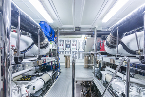 MY AURORA is a Nordhavn  Yacht For Sale in Fort Lauderdale-Upper Engine Room-41