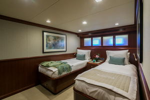 MY AURORA is a Nordhavn  Yacht For Sale in Fort Lauderdale-Guest Twin Stateroom Aft-30