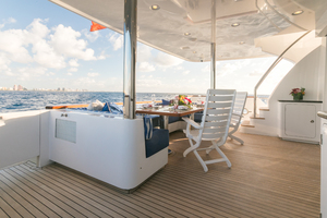 MY AURORA is a Nordhavn  Yacht For Sale in Fort Lauderdale-Main Deck aft-4