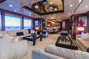 MY AURORA is a Nordhavn  Yacht For Sale in Fort Lauderdale-Salon-5