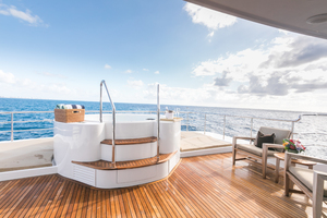 MY AURORA is a Nordhavn  Yacht For Sale in Fort Lauderdale-Jacuzzi-23