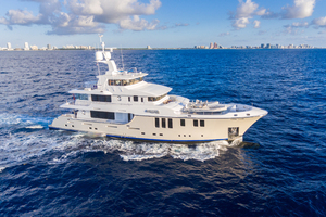 MY AURORA is a Nordhavn  Yacht For Sale in Fort Lauderdale-Running-1