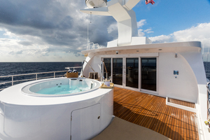 MY AURORA is a Nordhavn  Yacht For Sale in Fort Lauderdale-Jacuzzi-24