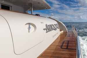 MY AURORA is a Nordhavn  Yacht For Sale in Fort Lauderdale-Swim platform-3