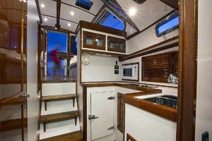 40' Bruckmann Abaco 40 2012 Galley Looking Aft