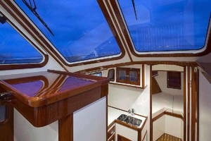 40' Bruckmann Abaco 40 2012 Interior from Pilothouse
