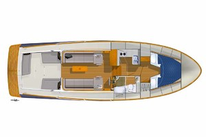 40' Bruckmann Abaco 40 2012 Abaco Drawing