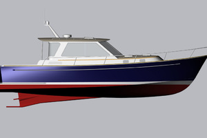 40' Bruckmann Abaco 40 2012 Profile Drawing