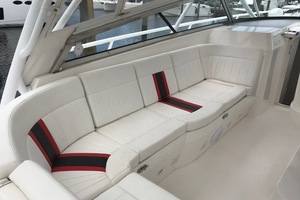 Intrepid 43 - Conched Out - Cuddy Seating