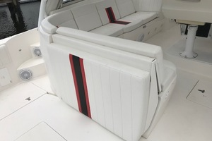 Intrepid 43 - Conched Out - Helm Seating