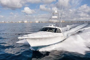 Cool Daddio is a Cabo 44 HTX Yacht For Sale in Hyannis-Port Running-11