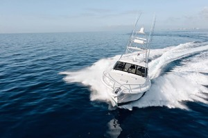 Cool Daddio is a Cabo 44 HTX Yacht For Sale in Hyannis-Running-36